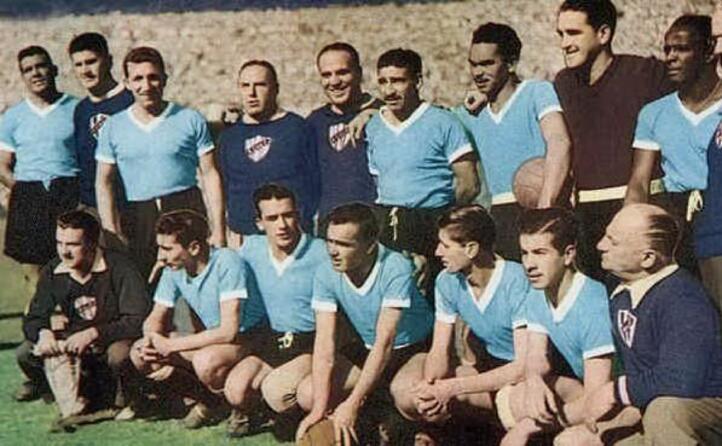 la nazionale uruguaiana