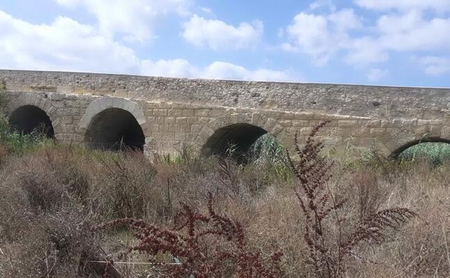 il ponte (foto l unione sarda tellini)