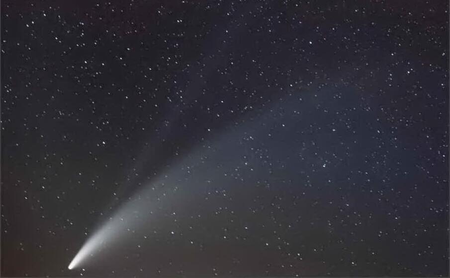Ecco l'aspetto della meravigliosa cometa NEOWISE vista direttamente dallo spazio