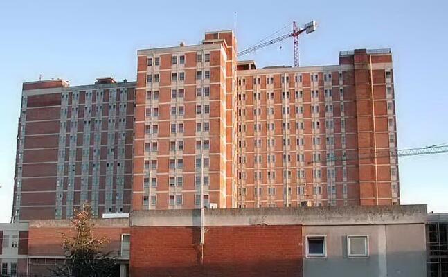 l ospedale san francesco (archivio l unione sarda)