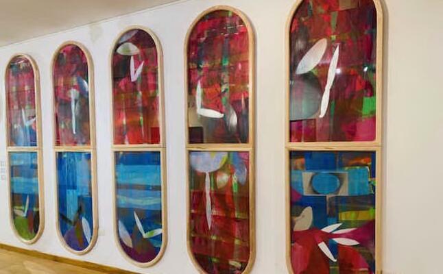 le opere di antonello cuccu in mostra al museo diocesano (foto raggio)