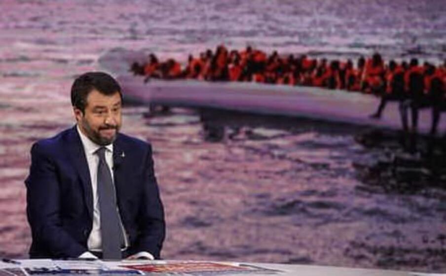 Open Arms, Salvini: