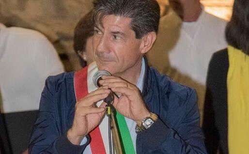 Il sindaco di Domusnovas Massimo Ventura (Foto S.Farris)