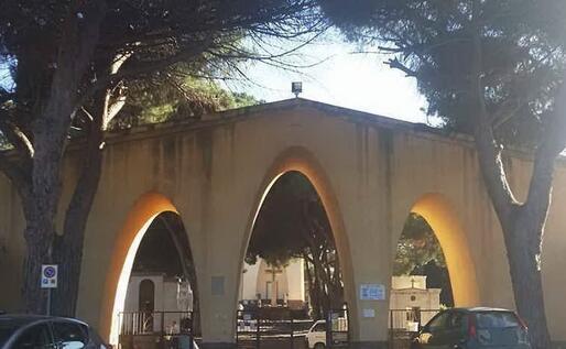 Il cimitero di Carbonia (L'Unione Sarda - Scano)