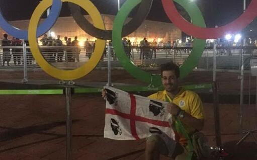 Al lavoro alle Olimpiadi di Rio (foto Gian Marco Nuvoli)