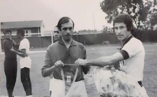 Nino Falchi con Greatti