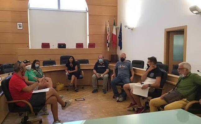 la presentazione delle attivit (foto l unione sarda pala)