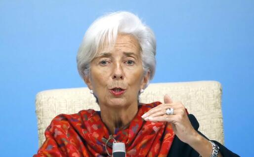 Christine Lagarde, presidente dell'Fmi (Ansa)