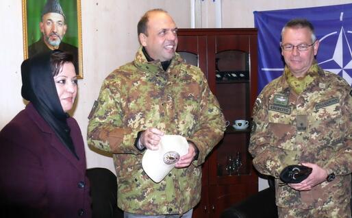 In tenuta militare a Herat, in Afghanistan (Ansa)