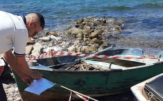 l intervento (foto guardia costiera)