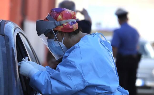 i test sono effettuati direttamente dalle auto (foto fabio murru)