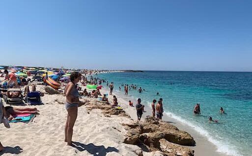 La spiaggia di Is Arutas (foto Sara Pinna)