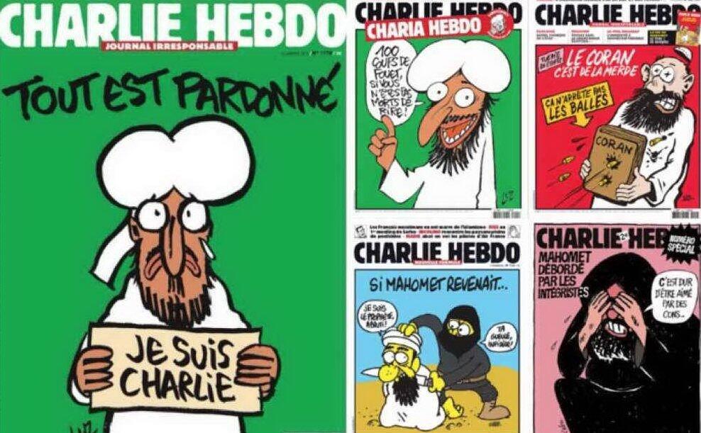 """Charlie Hebdo veröffentlicht die Karikaturen Mohammeds erneut: """"Wir werden unsere Köpfe nicht beugen"""" - L'Unione Sarda.it"""