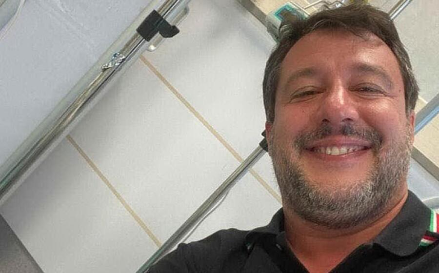 matteo salvini (foto twitter)