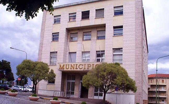 il municipio di nuoro (archivio l unione sarda)