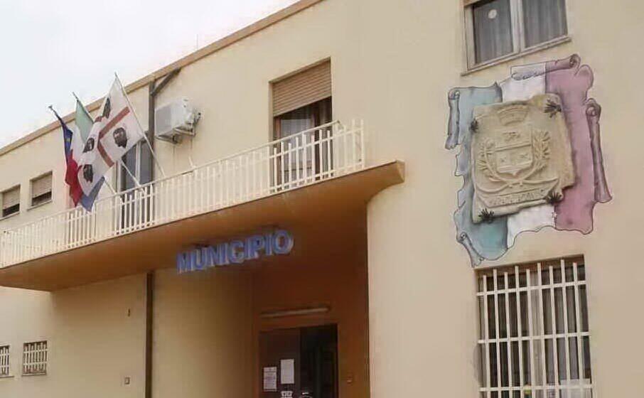 il municipio di maracalagonis (foto a serreli)