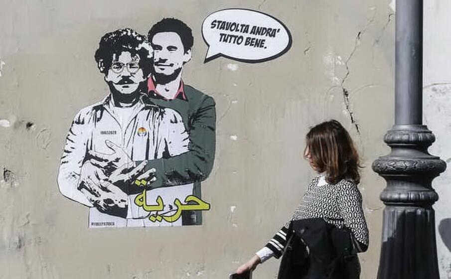 mentre ancora si chiede giustizia e verit per giulio regeni il ricercatore italiano ucciso al cairo nel 2016 il governo egiziano arresta e tiene imprigionato patrick zaki attivista per i diritti umani e ricercatore iscritto all universit di bologna