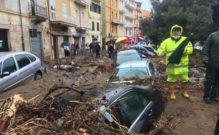 bitti paese devastato dall alluvione del 28 novembre (tutte le foto sono archivio l unione sarda)