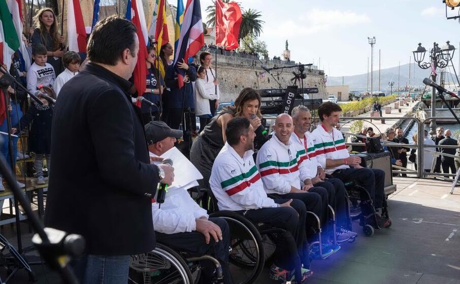 la presentazione della nazionale italiana nell edizione 2017 ad alghero (foto paolo calaresu)