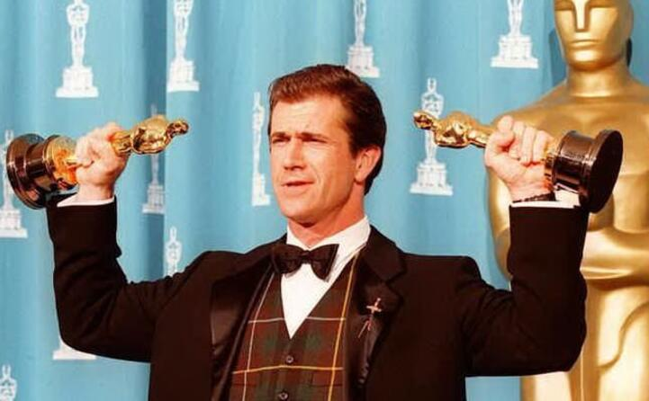 in carriera ha vinto 2 oscar come attore e come regista proprio per braveheart
