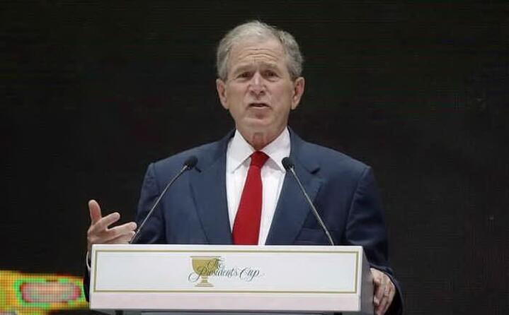 la decisione del presidente george bush
