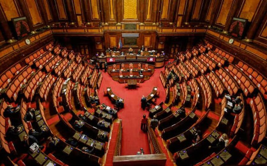 l aula del senato (foto ansa)