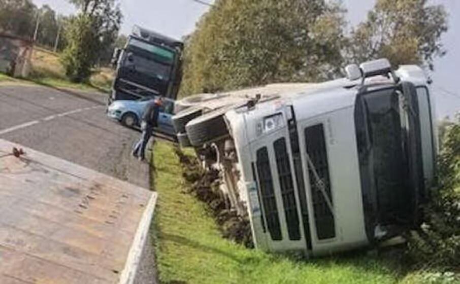 l incidente (foto sanna)