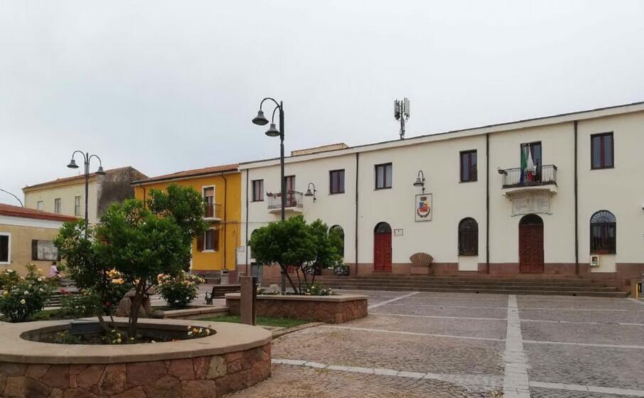 il municipio di putifigari (foto l unione sarda tellini)
