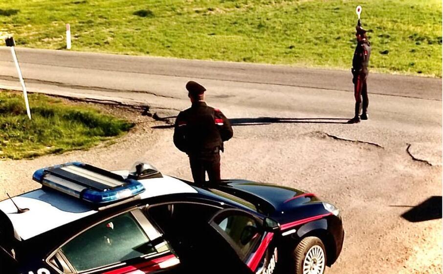 un controllo (foto carabinieri)