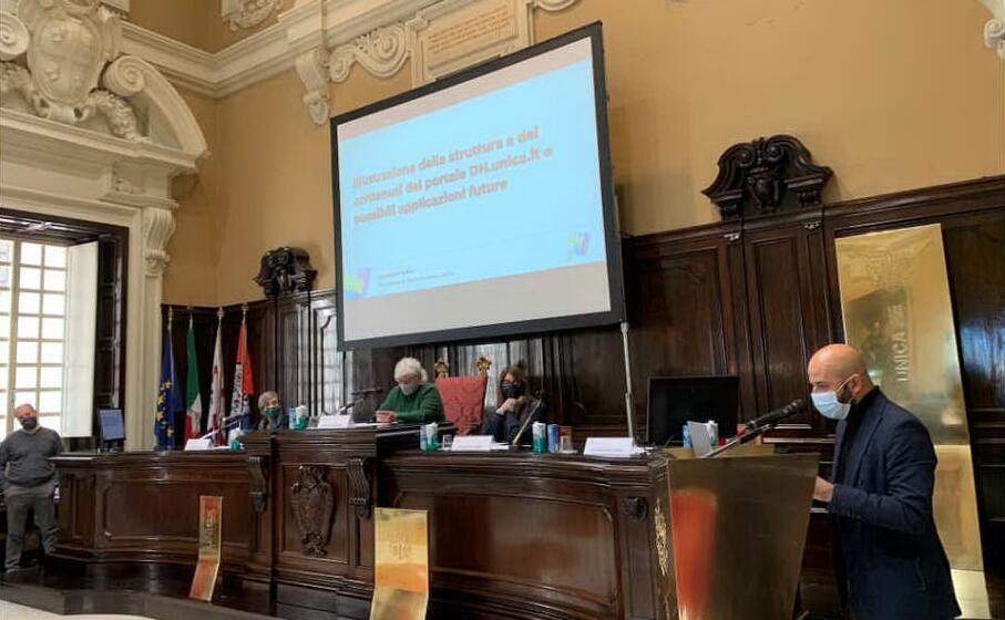 la presentazione dell iniziativa (foto ufficio stampa universit di cagliari)