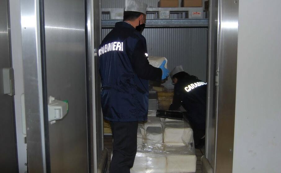 i nas in azione (foto carabinieri)