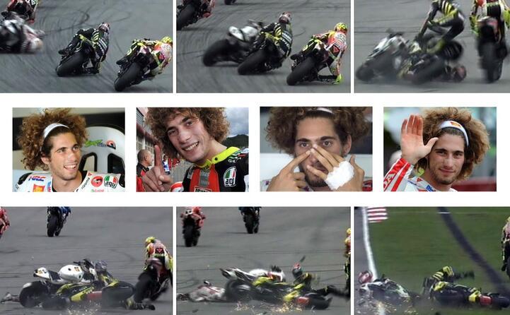 le immagini dell incidente