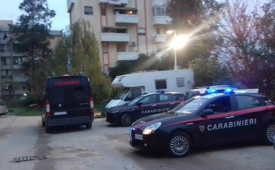 un controllo dei militari (foto carabinieri)
