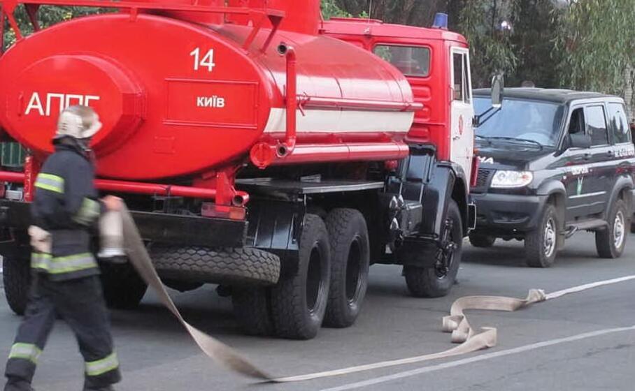 vigili del fuoco al lavoro in ucraina (foto wikimedia)