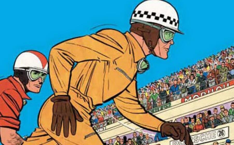 particolare dalla copertina di un fumetto di graton (foto da google)
