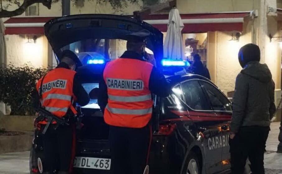 carabinieri a olbia (foto carabinieri)