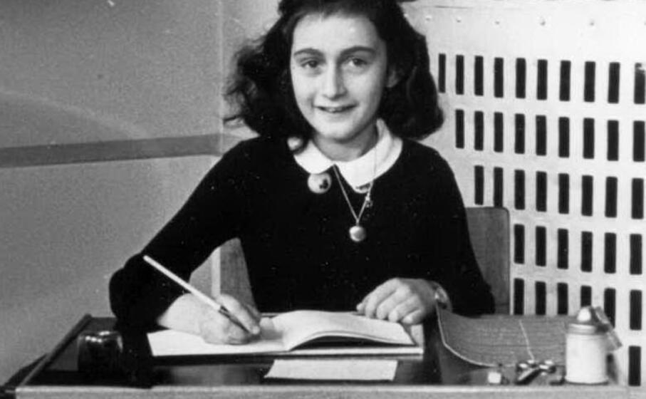 anne frank in uno scatto del 1940