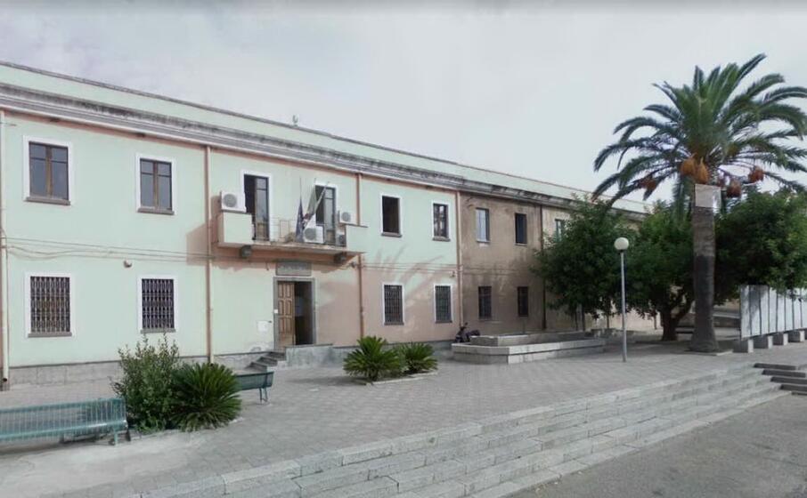 il municipio di milis (foto pintus)