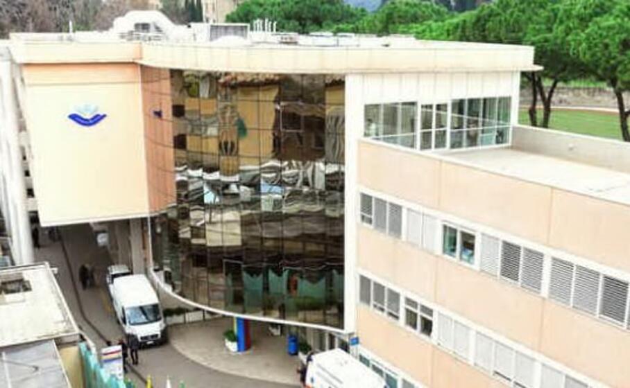 l ospedale bambino ges di roma (foto ansa)
