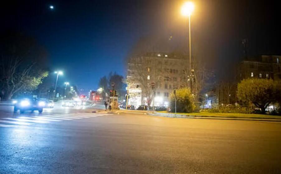 ponte milvio a roma (foto ansa)