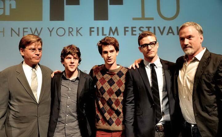 nel 2010 nel cast del film the social network
