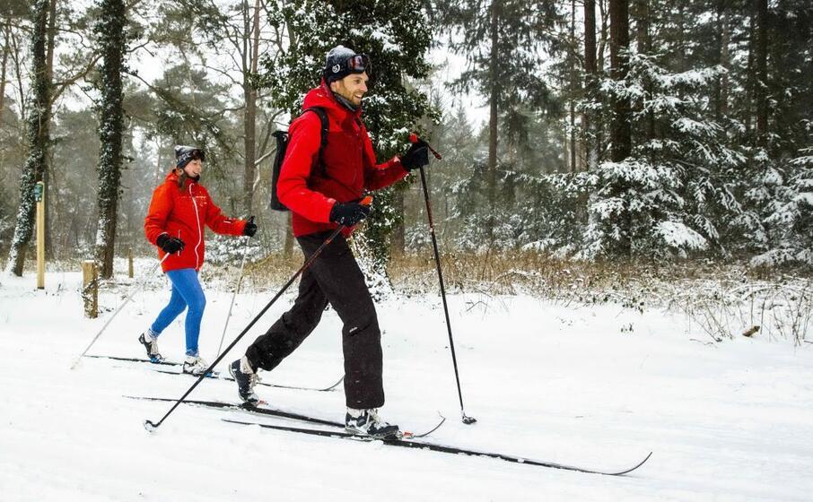 molti parchi si sono trasformati in piste da sci