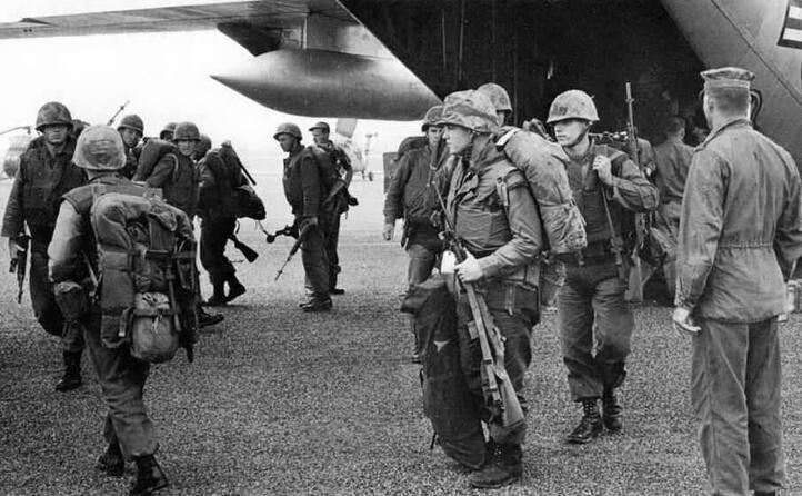 obiettivo degli americani era sconfiggere le forze comuniste