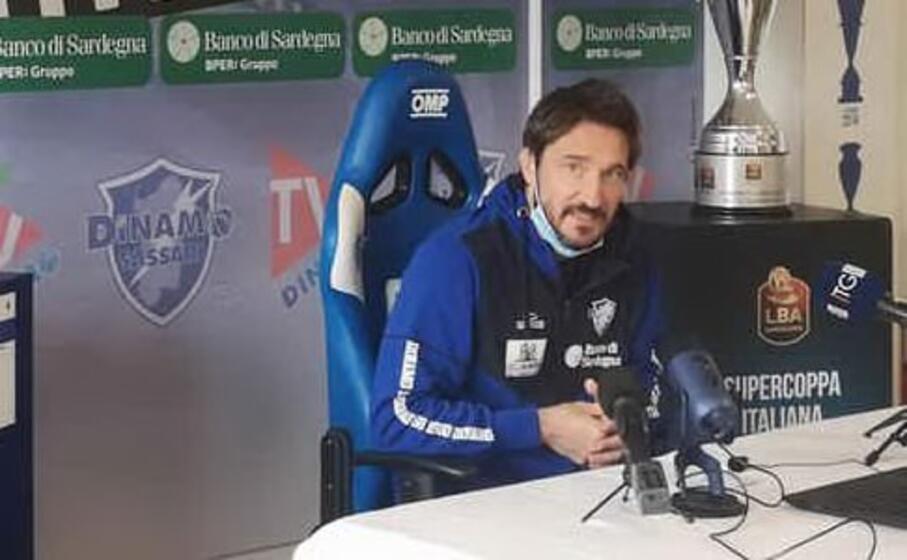 coach pozzecco (ansa)