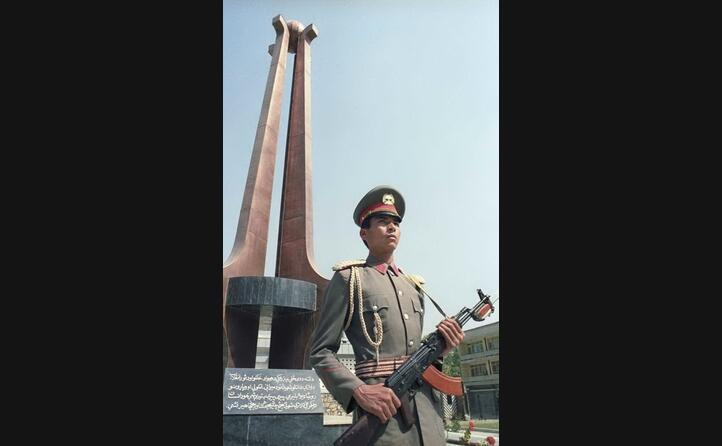 un militare afgano