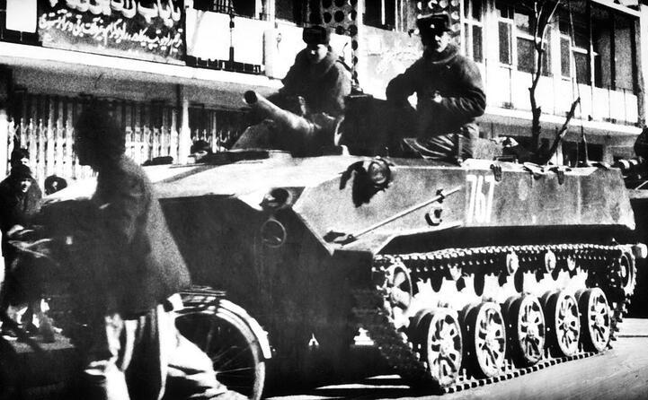 un veicolo sovietico
