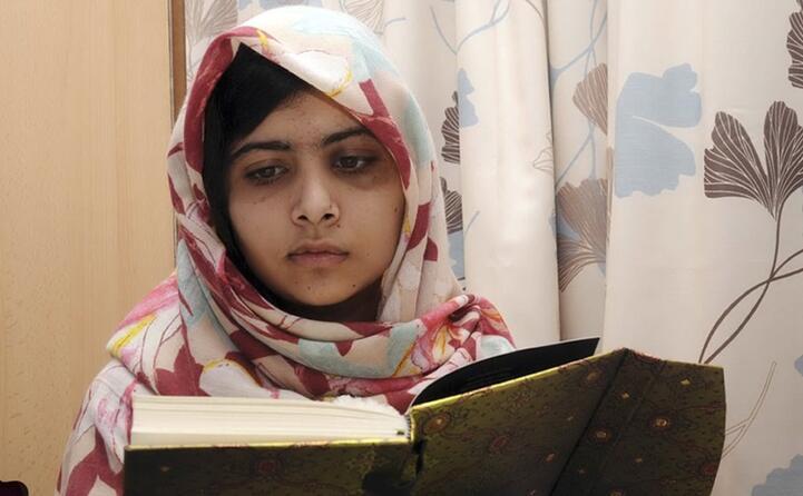 malala yousafzai a 15 anni