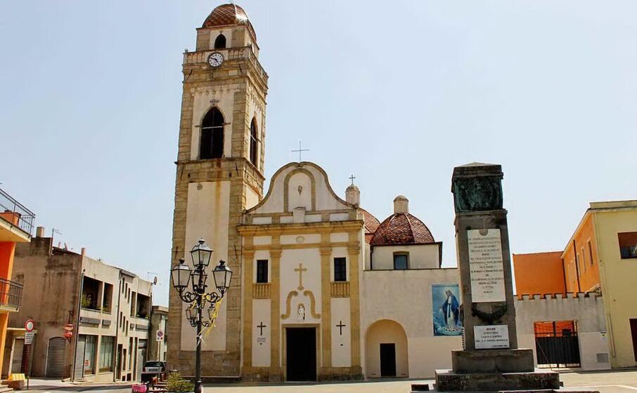la chiesa parrocchiale di senorb (l unione sarda sirigu)