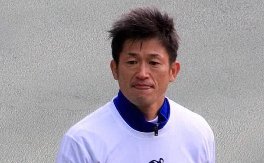 kazu miura (foto wikipedia)