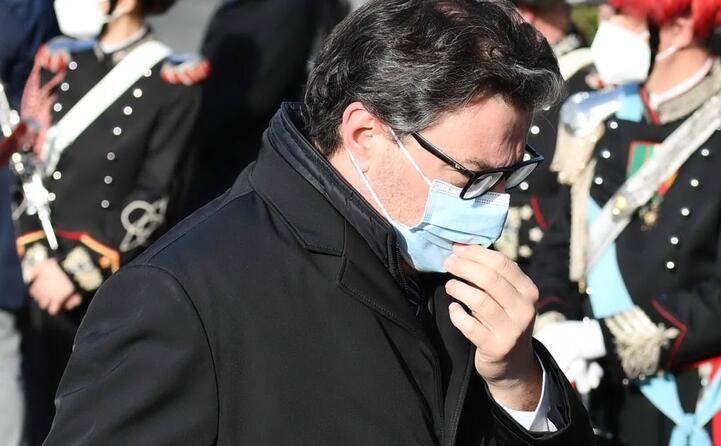 il ministro giancarlo giorgetti